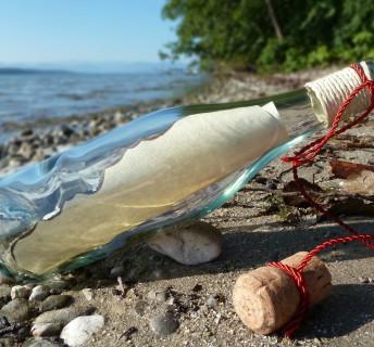 La lettre de Françoise Royer, telle une bouteille à la mer...